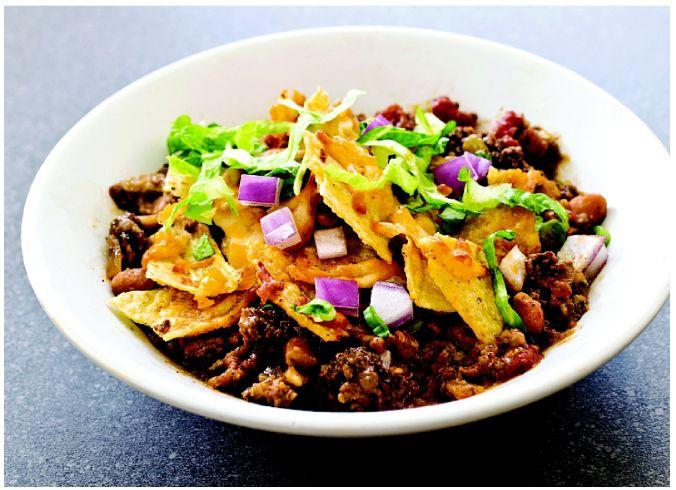 Make taco night into an easy one-dish meal with a beef bake