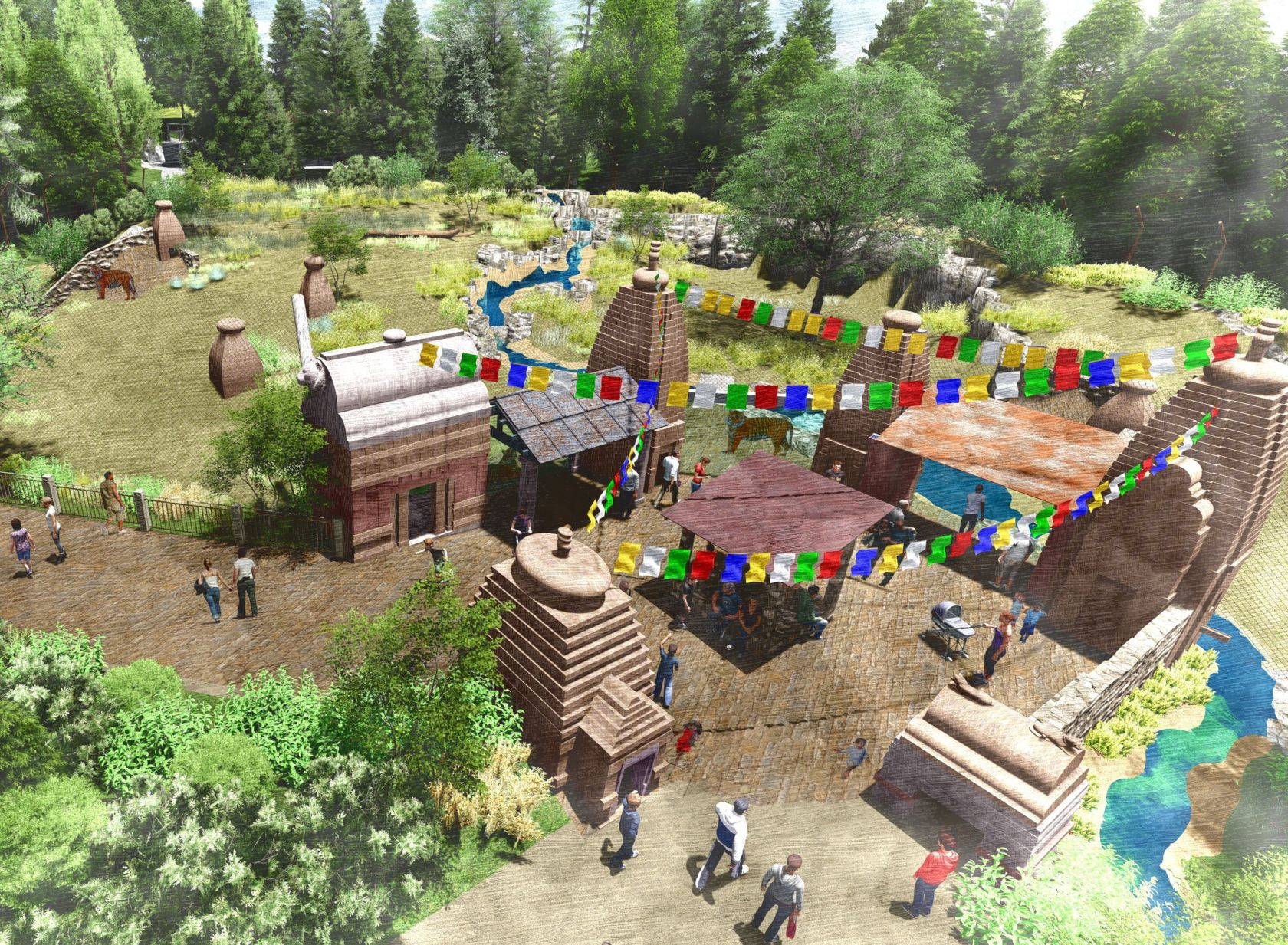 Asian Highlands exhibit & 1st phase of Omaha zoou0027s $22 million Asian Highlands exhibit to open ...