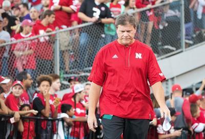 Nebraska special teams coordinator Bruce Read