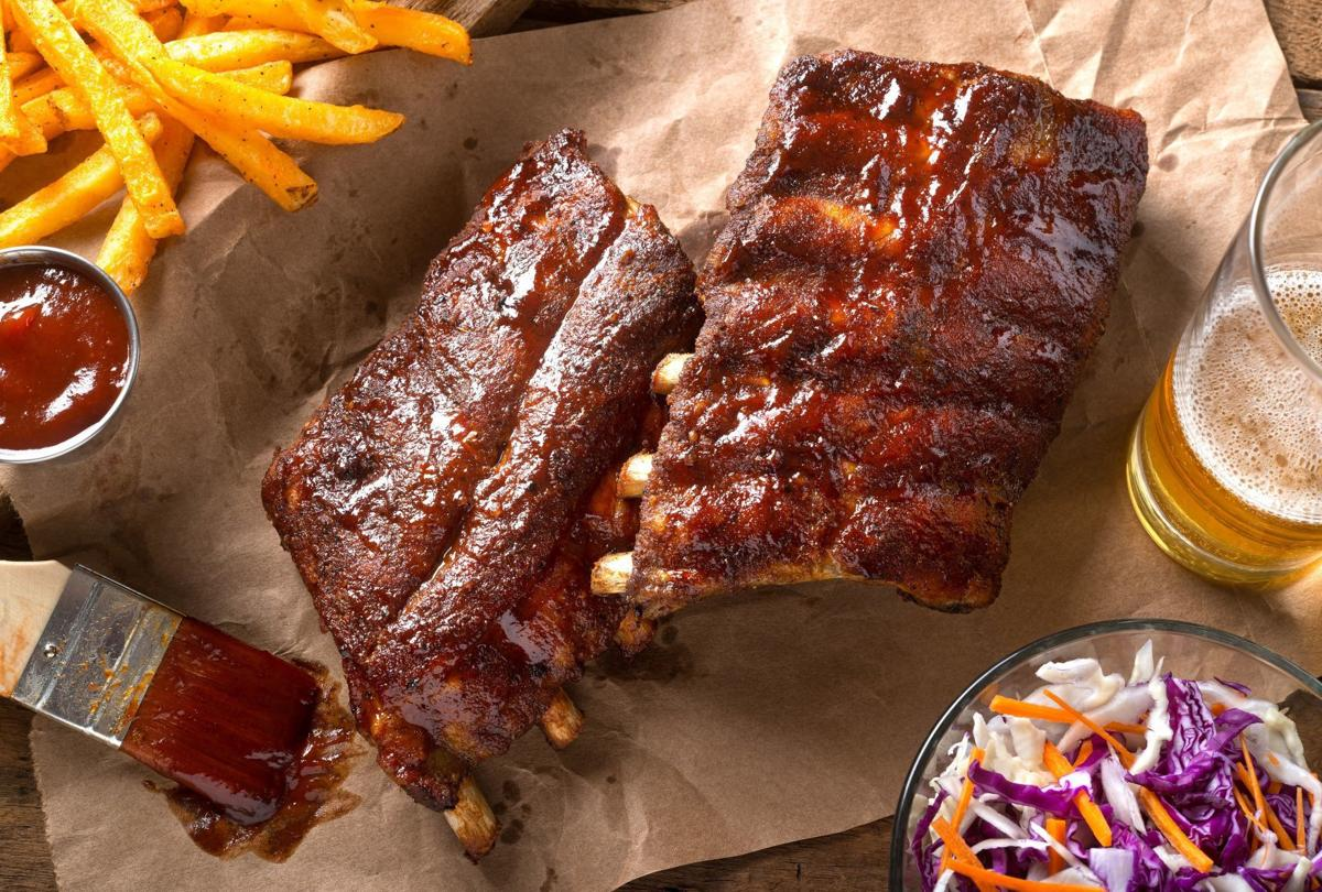 Grilled Baby Back Pork Ribs
