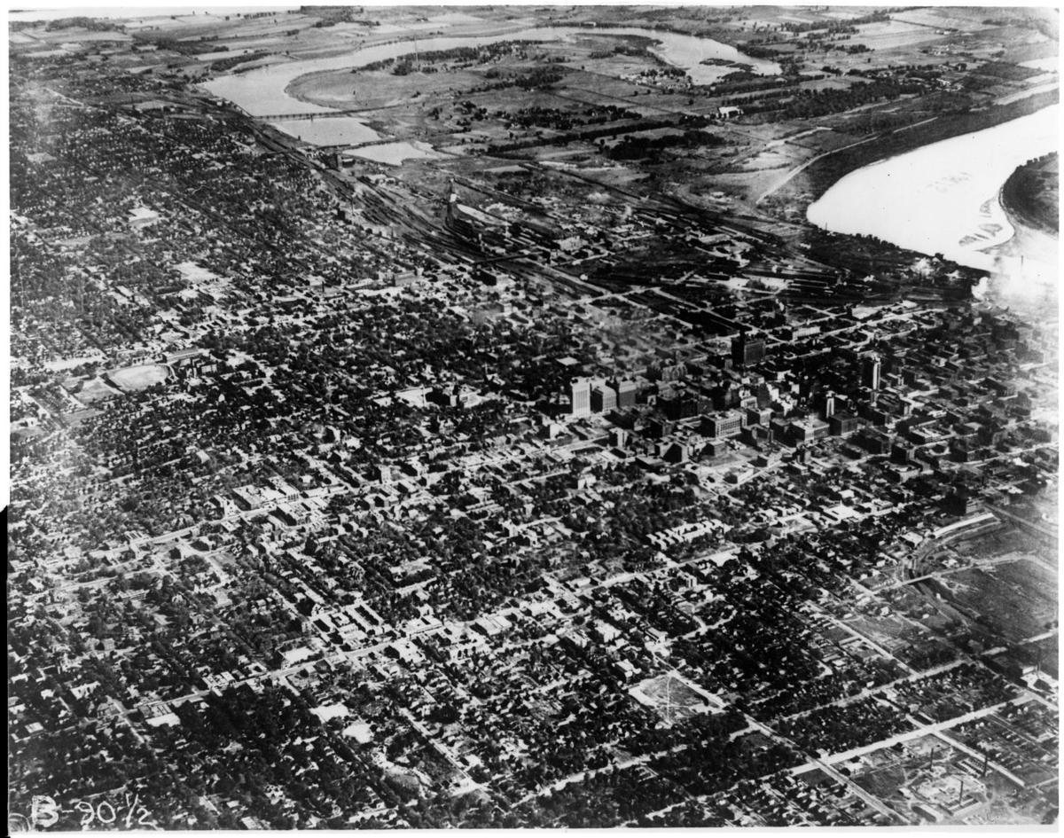 Carter Lake aerial