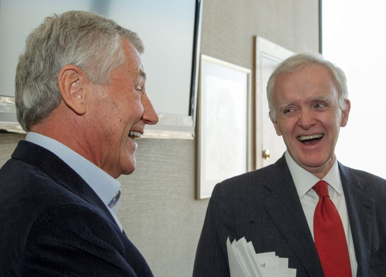 Bob Kerrey discusses Hagel nomination on 'Real Time With Bill Maher'