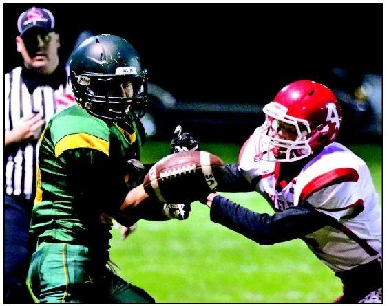 Falcons can't hang on to Audubon's back