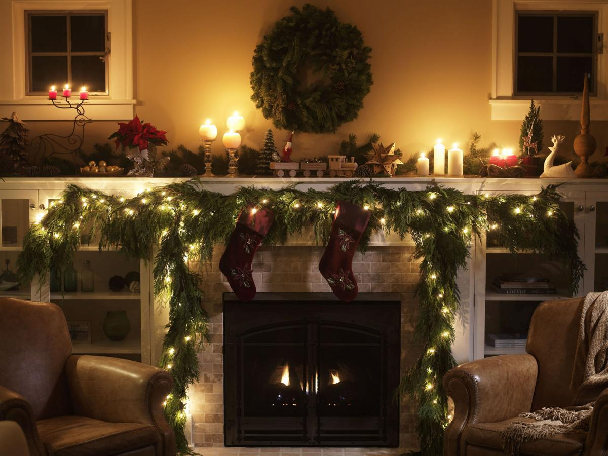 more is less u0027 and other pro tips for decorating with fresh garland