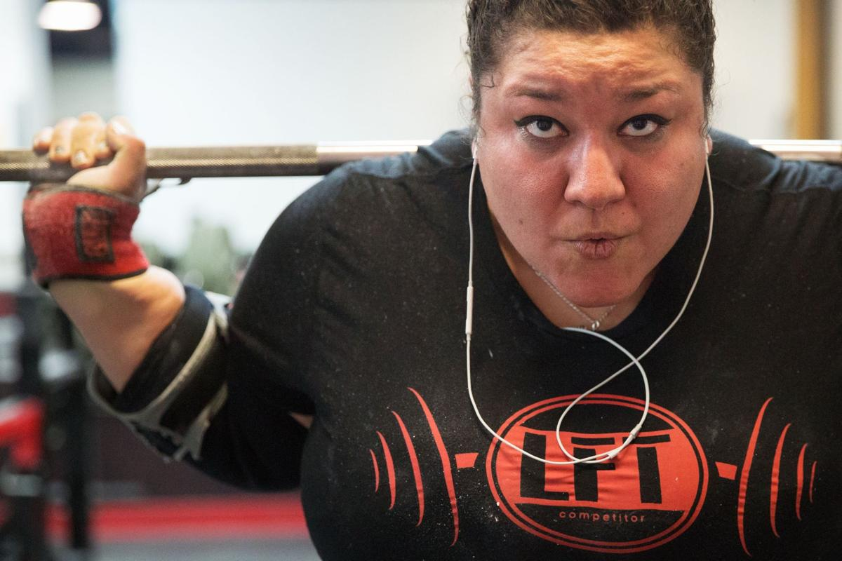 An Omaha woman broke 4 world records over the weekend