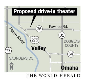 Proposed drive-in theater