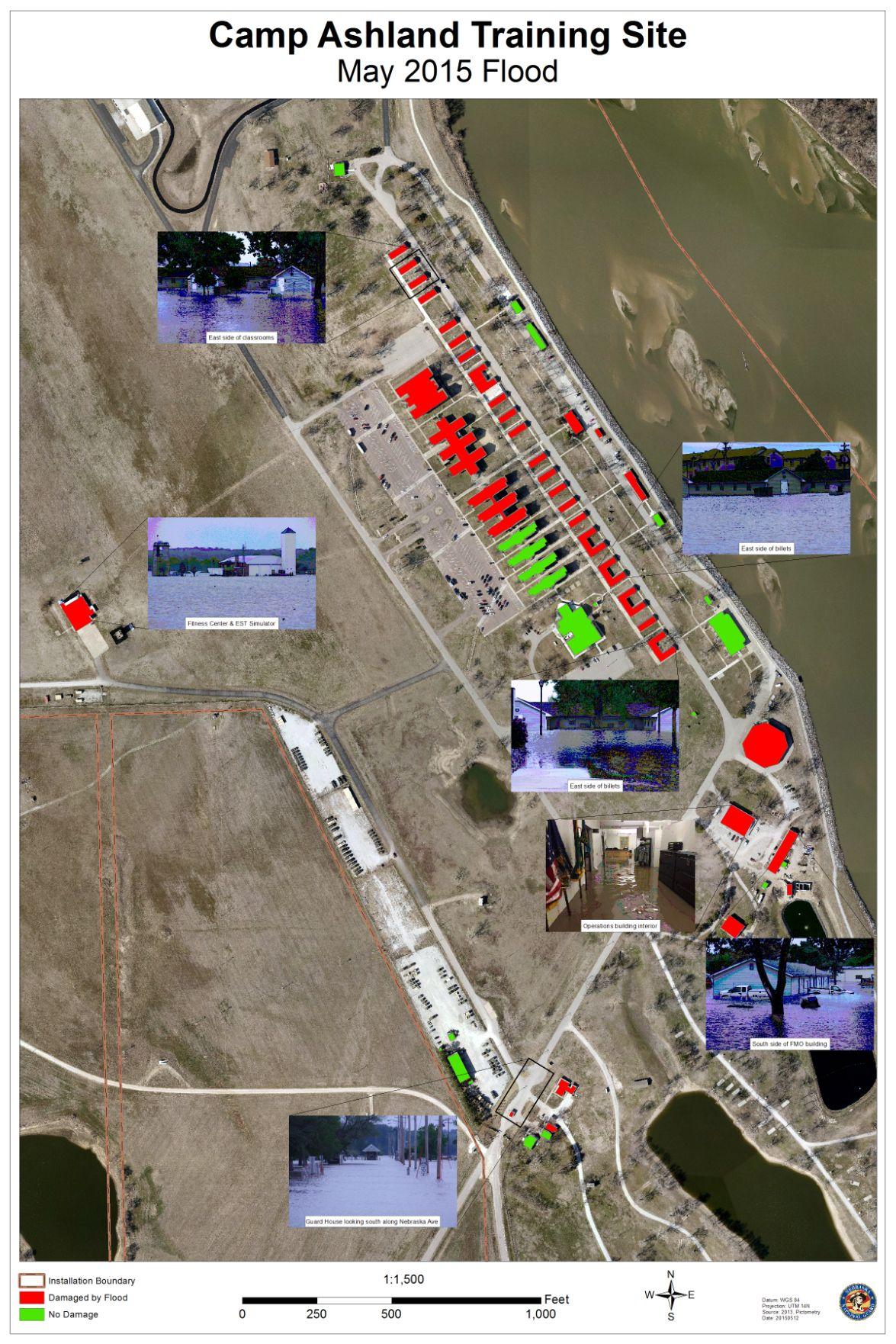 Camp Ashland Training Site May 2015 Flood Omaha Com