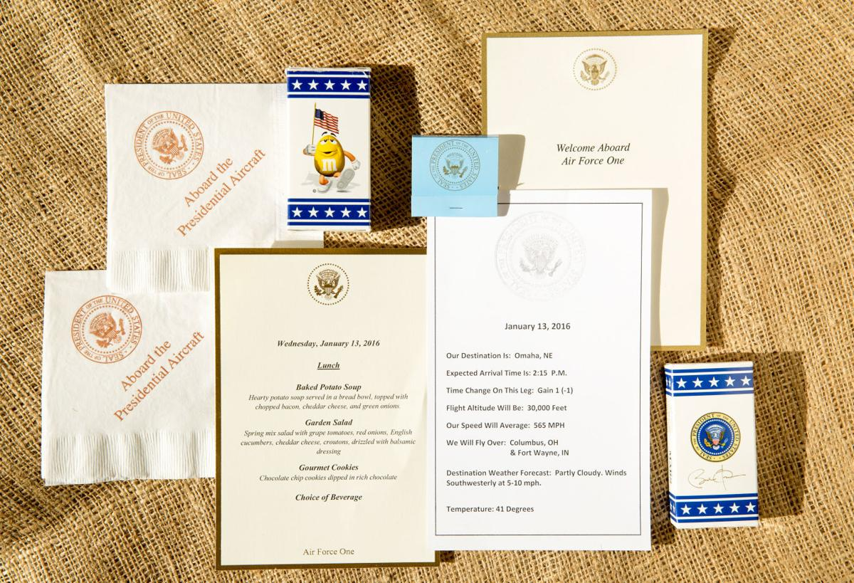 Air Force One: Security, legroom and goodie bag of presidential seal souvenirs