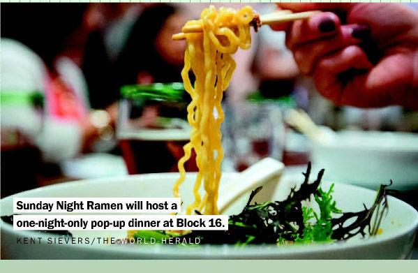 For one night only: Ramen pop-up