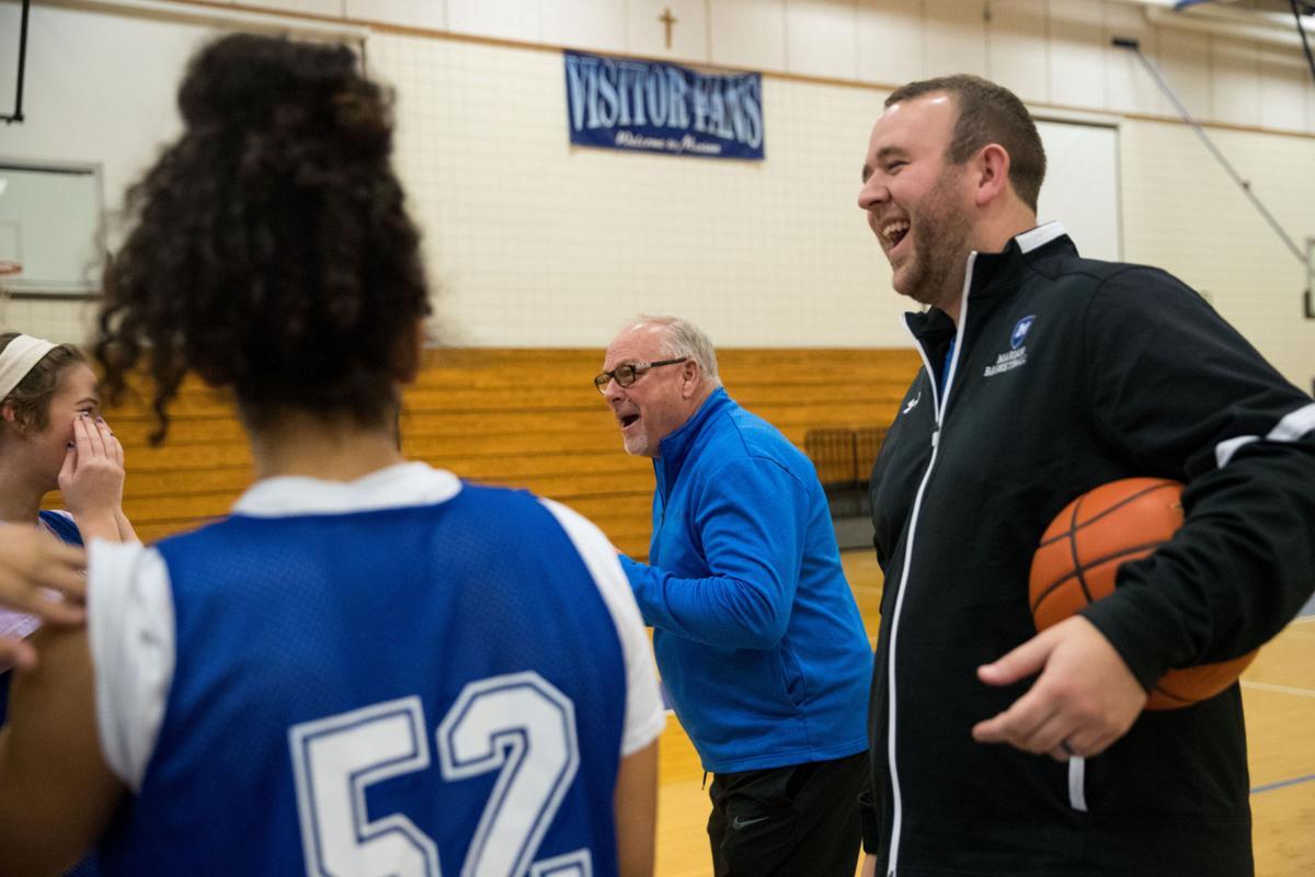 Legendary former Sandy Creek coach Russ Ninemire now an assistant at Omaha  Marian