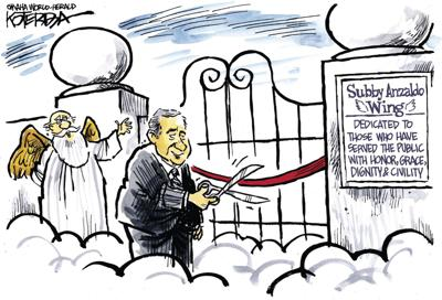Jeff Koterba's latest cartoon: One more ribbon cutting