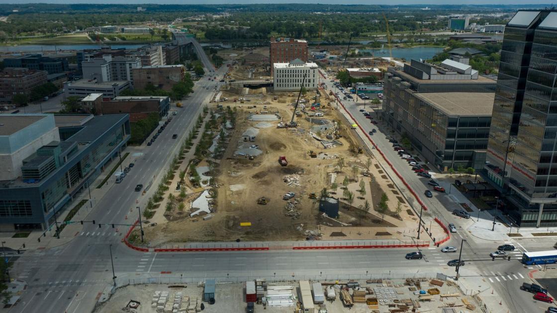 Deja vu for downtown Omaha as Gene Leahy Mall returns to street level
