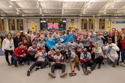 71ed86ca Husker men win first Big Ten track and field title since 2016; NU ...