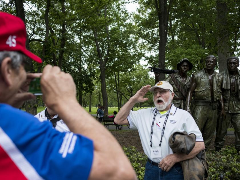 Honor Flight: Vietnam veterans get their day in Washington