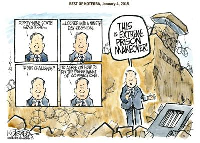 Best of Jeff Koterba's cartoon: Renovation time