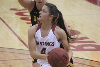 Hastings women's basketball