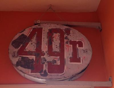 Old sign finds new home in Benson