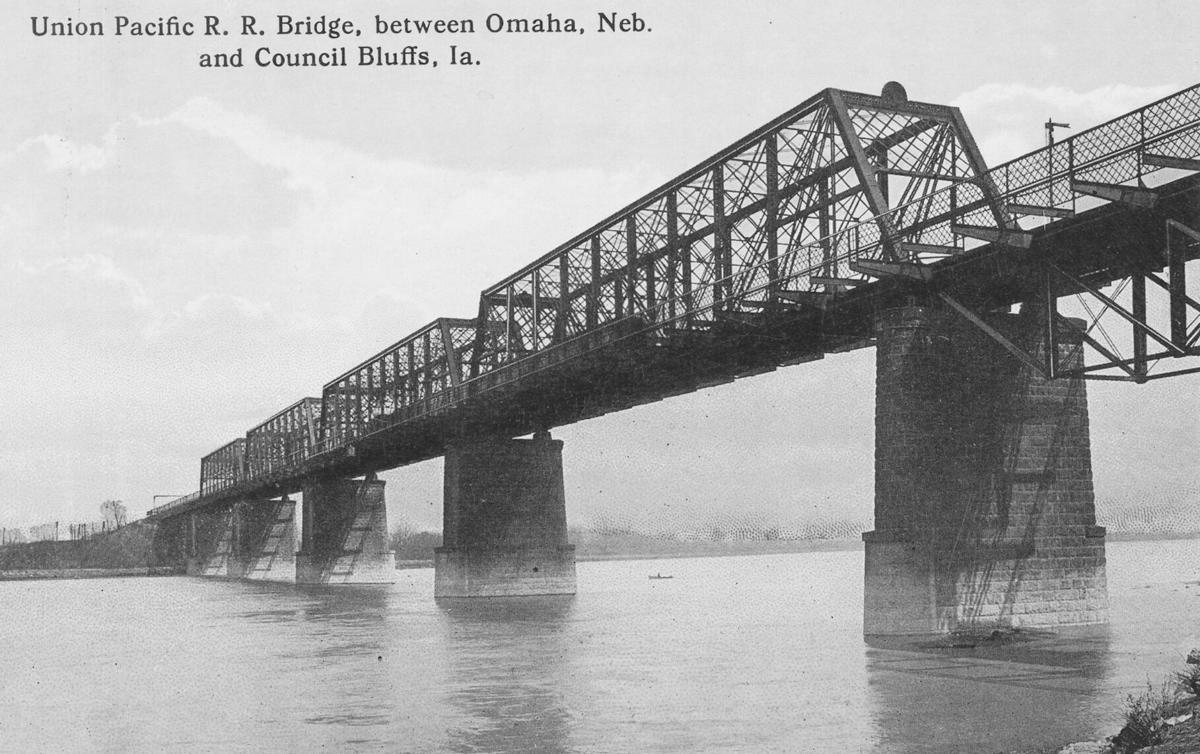 UPRR bridge over the Missouri