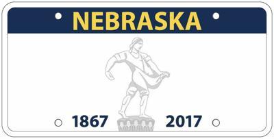 2017-2022 Nebraska license plate