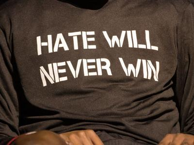 Hate Will Never Win