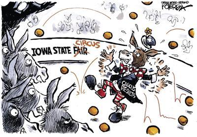 Jeff Koterba's latest cartoon: Juggling the caucus