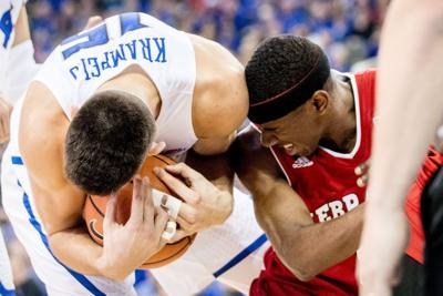 Nebraska looking to snap 14-game losing streak to Creighton to conclude restless rivalry week
