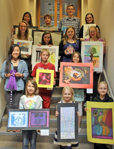 Women's Club art show winners