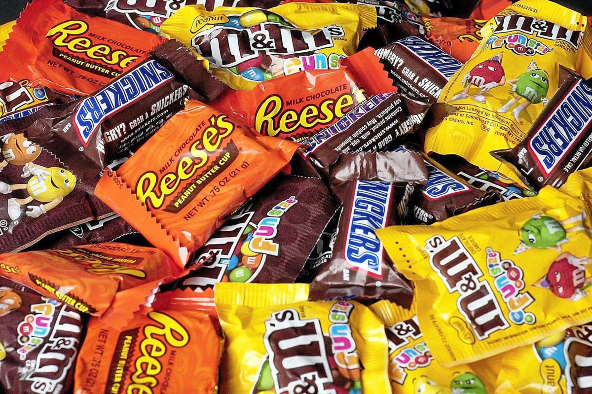 candy: you can't stop it on halloween, but you can control it