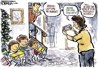 Jeff Koterba's latest cartoon: A perfect Christmas gift