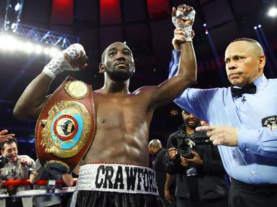 Crawford victorious