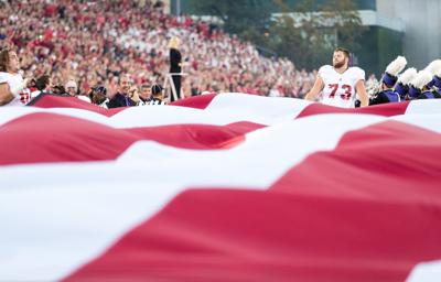 Rose-Ivey told Riley about plans to kneel, spoke to teammates about protest; other Huskers held flag