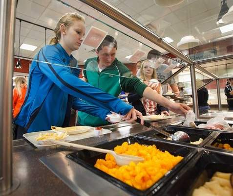 Schools say it's too soon to judge new lunch menus