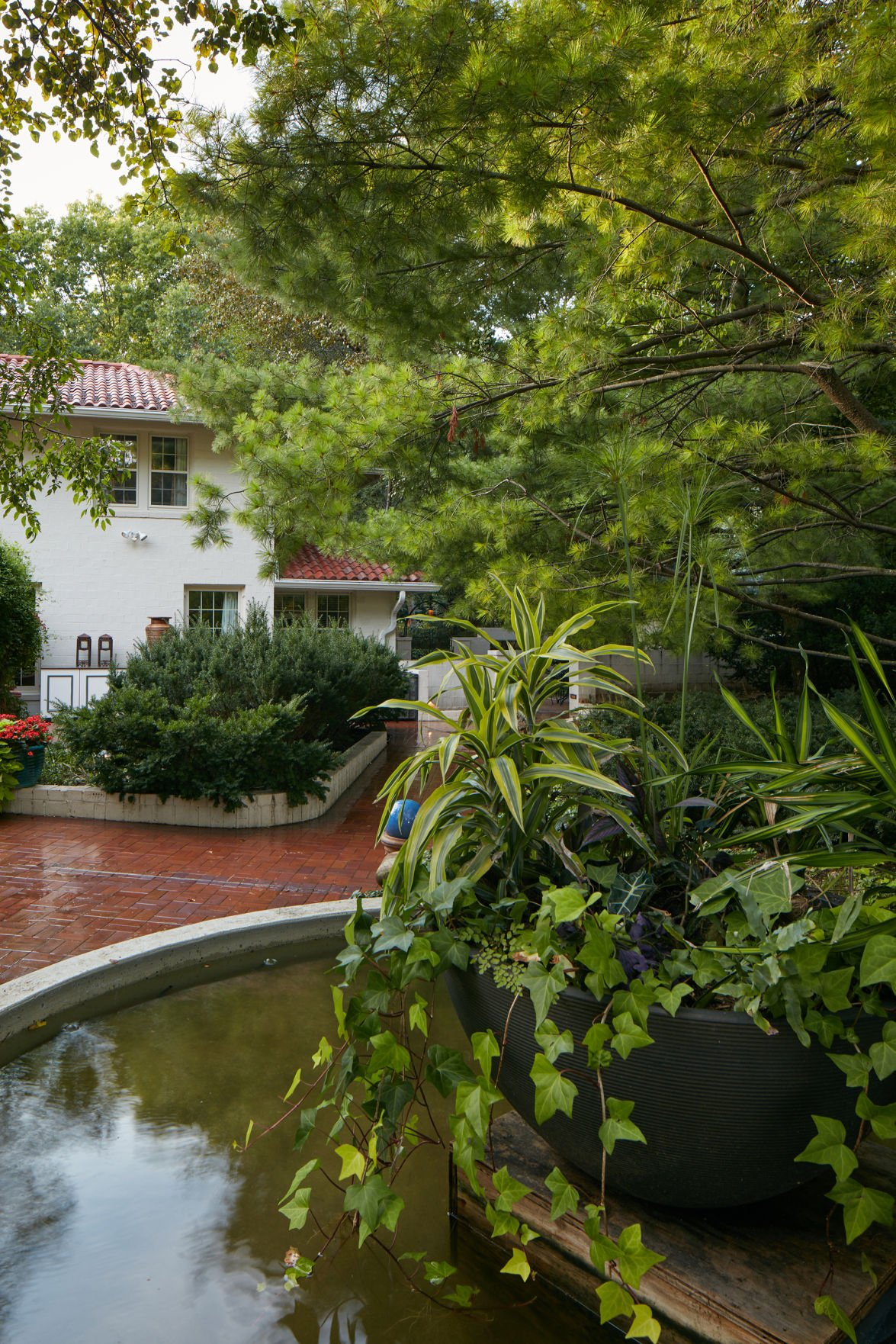 Influence of monet trips to spain mexico add for Garden reflecting pool