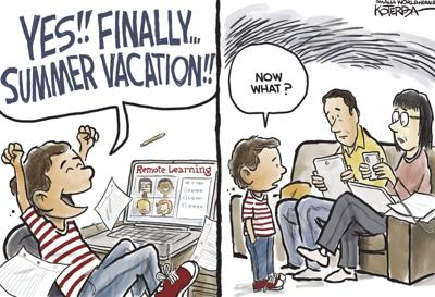 Jeff Koterba's latest cartoon: School's out for summer