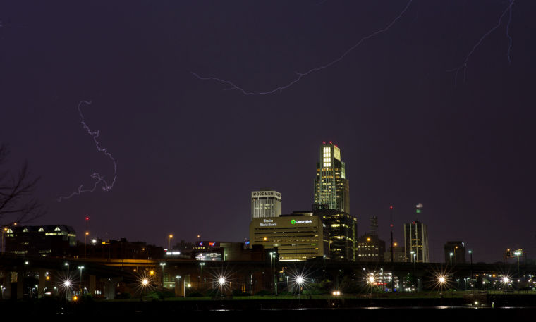 Storms pass through Omaha metro area; no significant damage reported