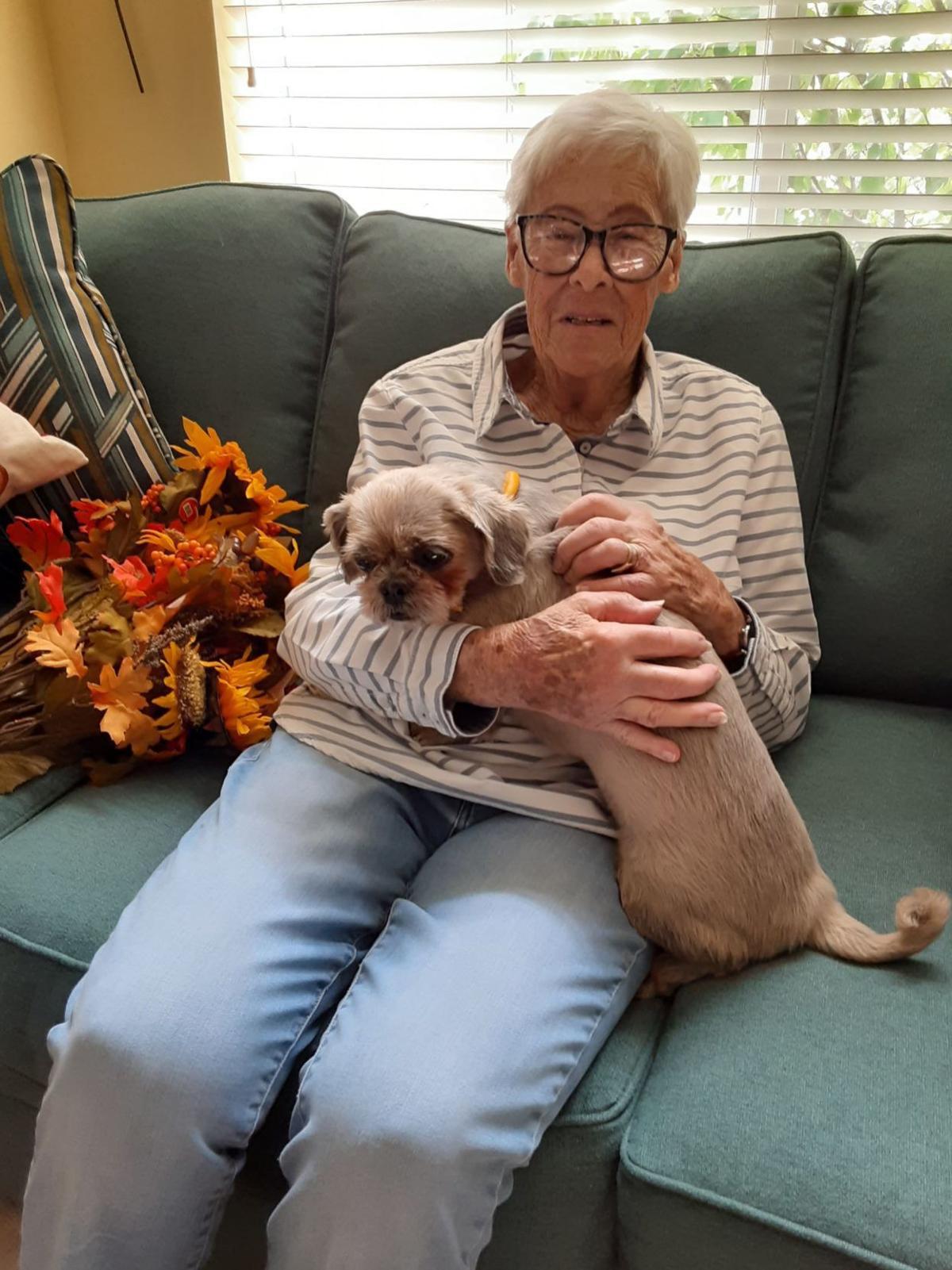Bette Mae and Ellie Mae on 9/25