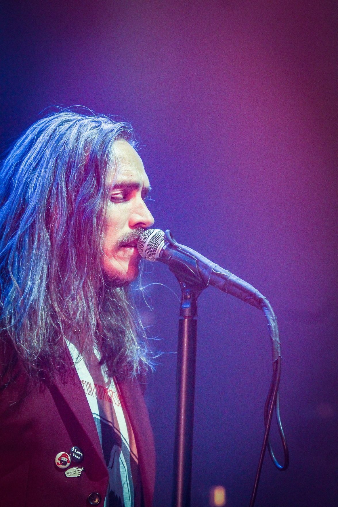 Brandon Boyd performs with Incubus at the Orpheum Theater on Oct. 19, 2019.
