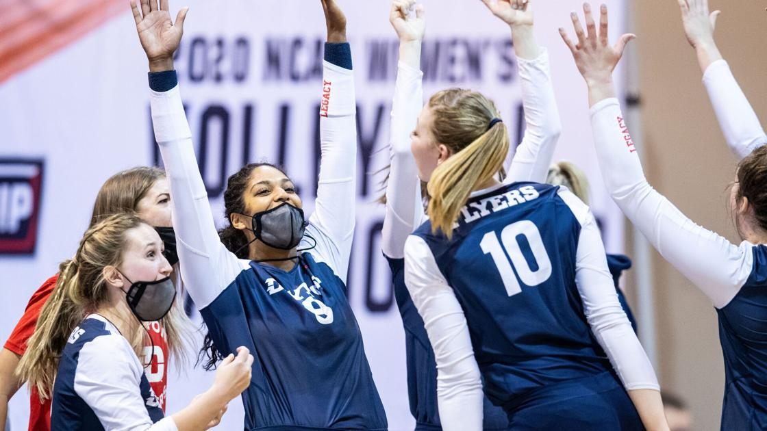 Scores from the second round of the NCAA volleyball tournament