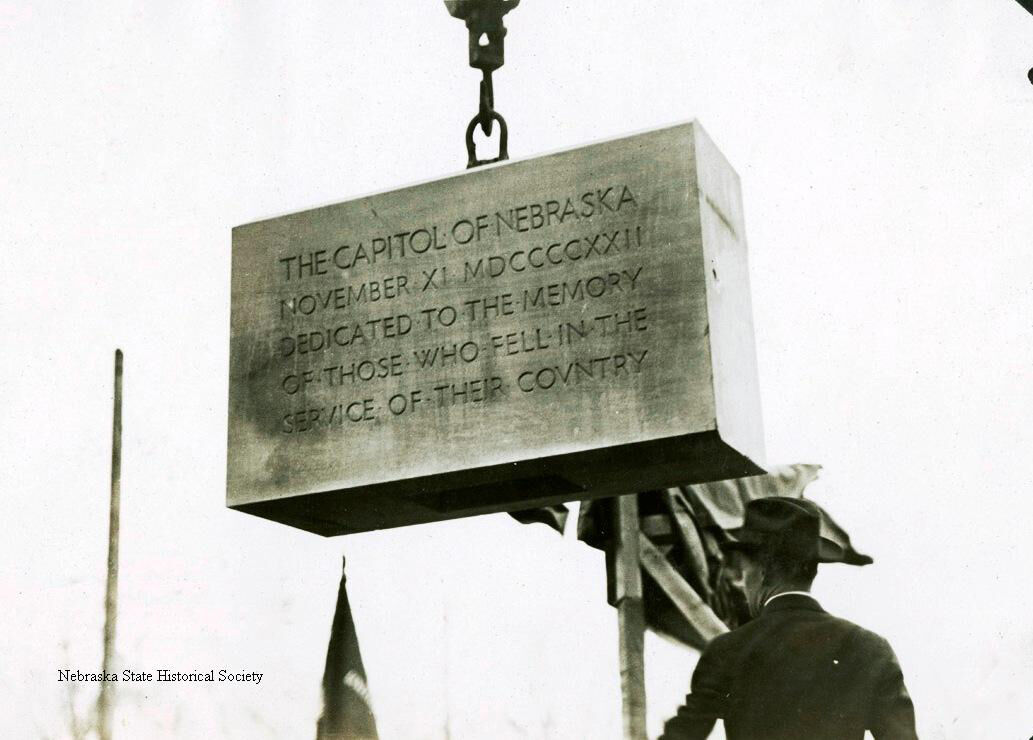 State Capitol cornerstone