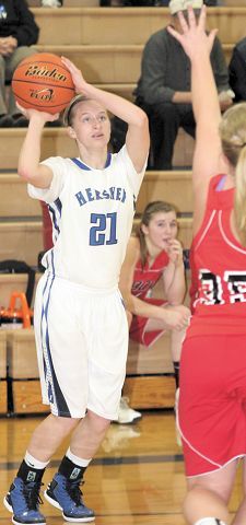 Hershey earns victory in girls game; Valentine boys win