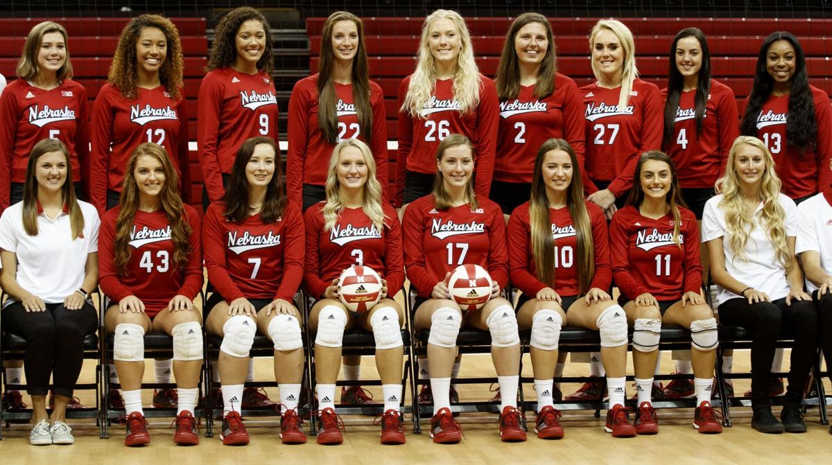 Nebraska Volleyball Schedule 2019 Husker volleyball set for 15 televised matches, including one on