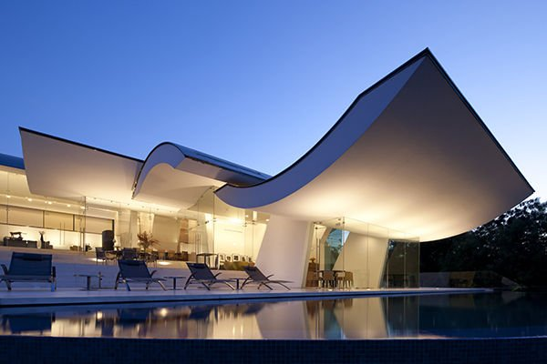 Wallace cunningham pushing the envelope inspired living - Superbe residence rasoir wallace e cunningham ...