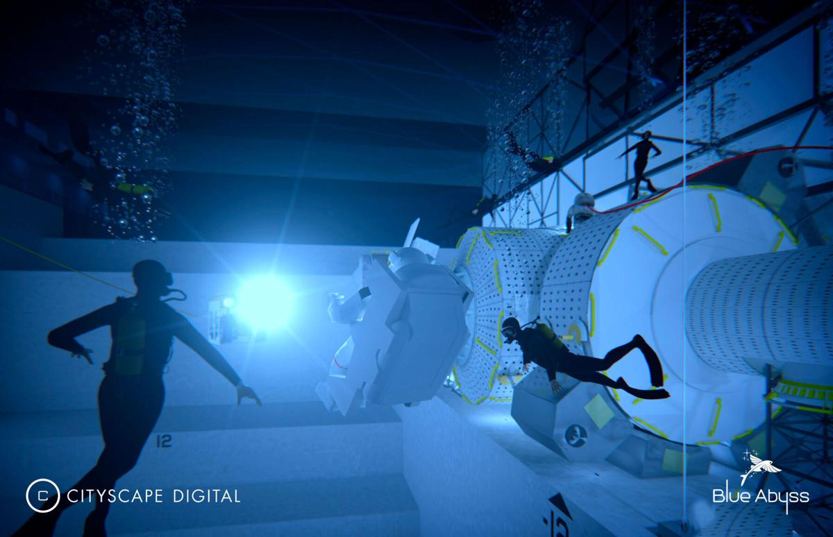 The world's 'biggest and deepest' swimming pool is to be built in the UK