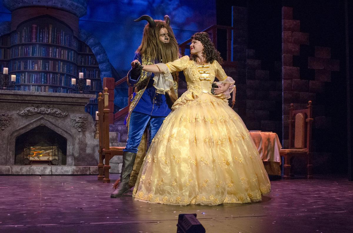 beast community_Review: Omaha Community Playhouse triumphs with lavish Beauty and the Beast | Arts ...
