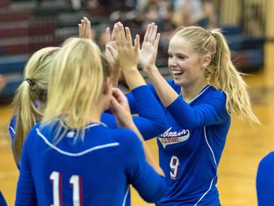 Grand Island's Alex Blase helps power Blue team to win in all-star volleyball match