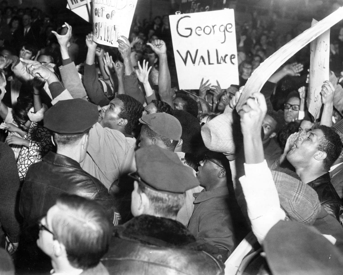 George Wallace in Omaha