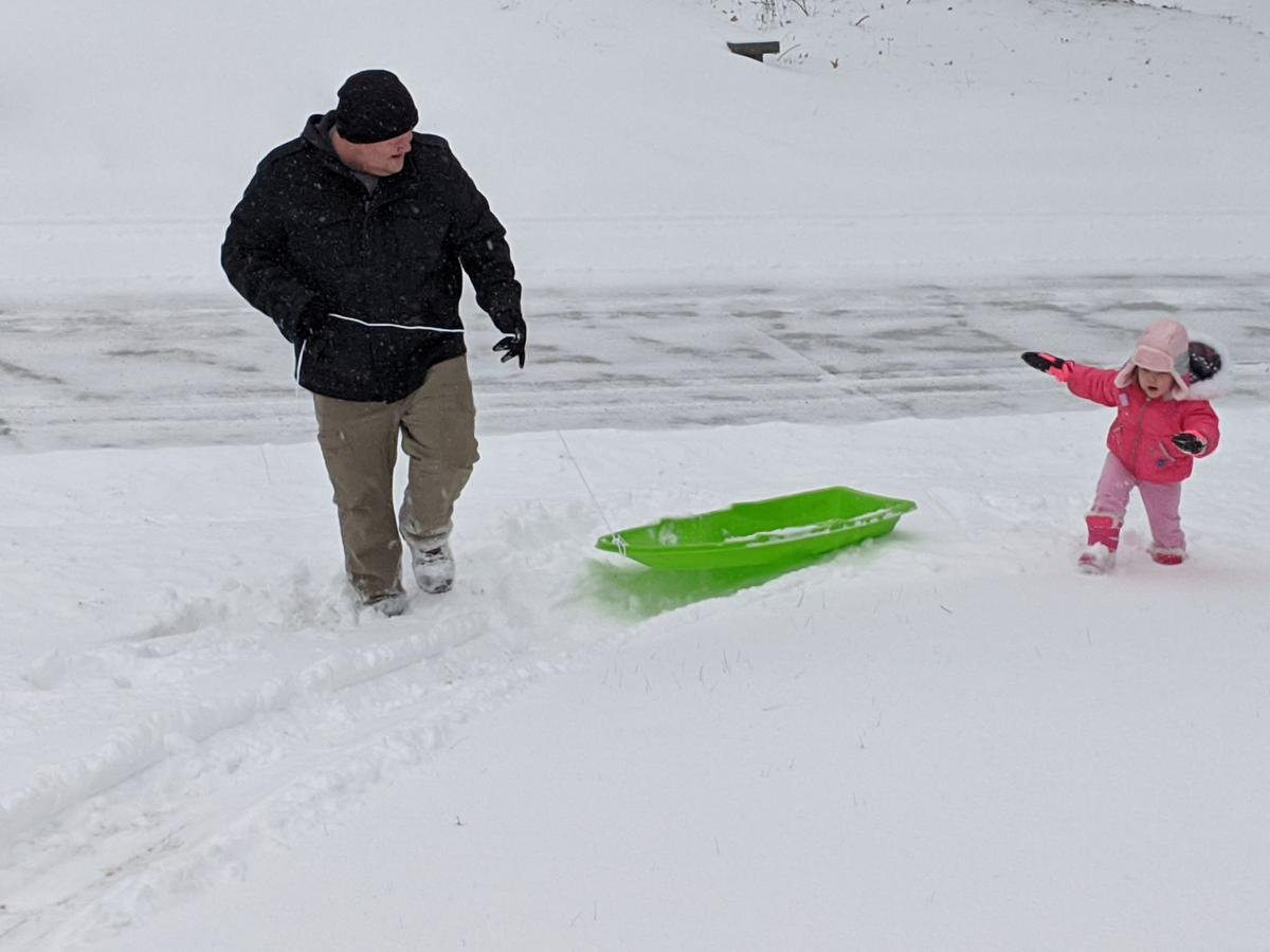 Snow day, snow fun