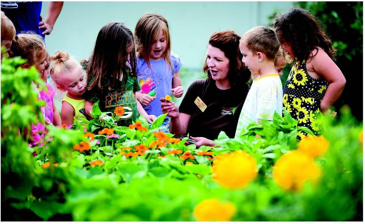 Sowing seeds of future gardeners