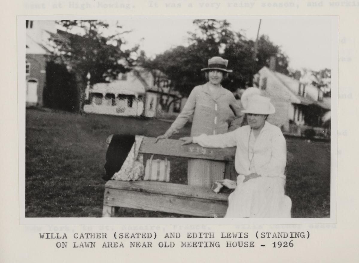 Edith Lewis and Willa Cather