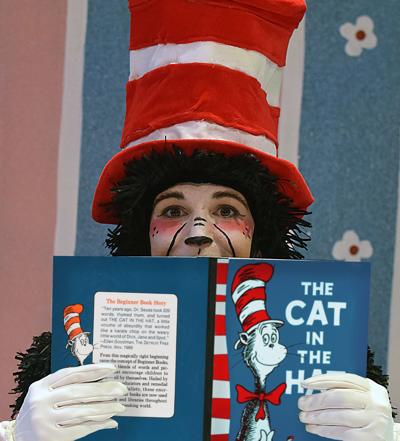 lauren krupski as the cat in the hat
